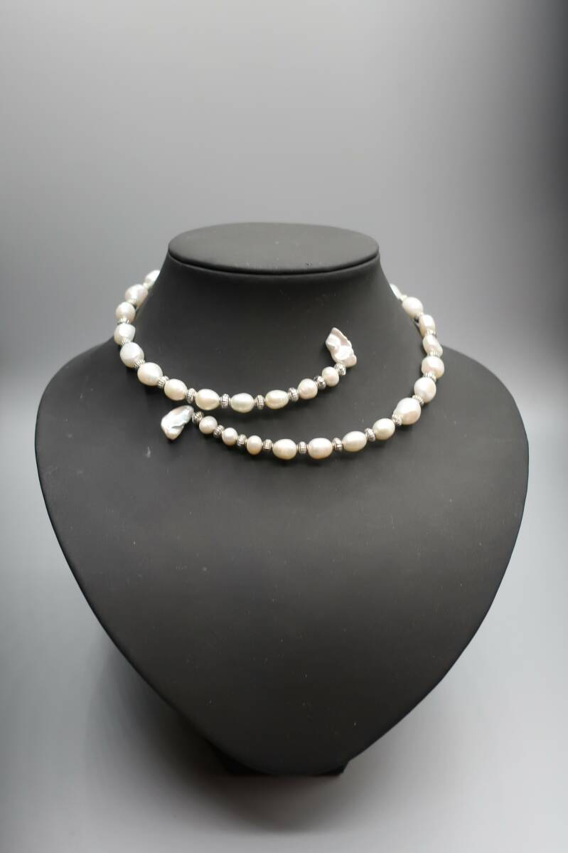 Necklace 'tender pearl'