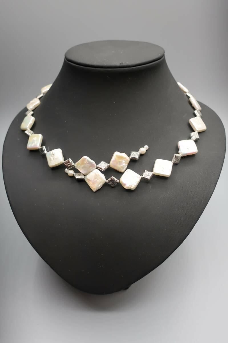 Necklace 'creative pearl'