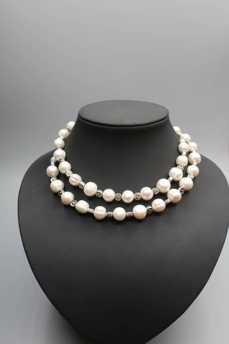 Necklace Rich Pearl