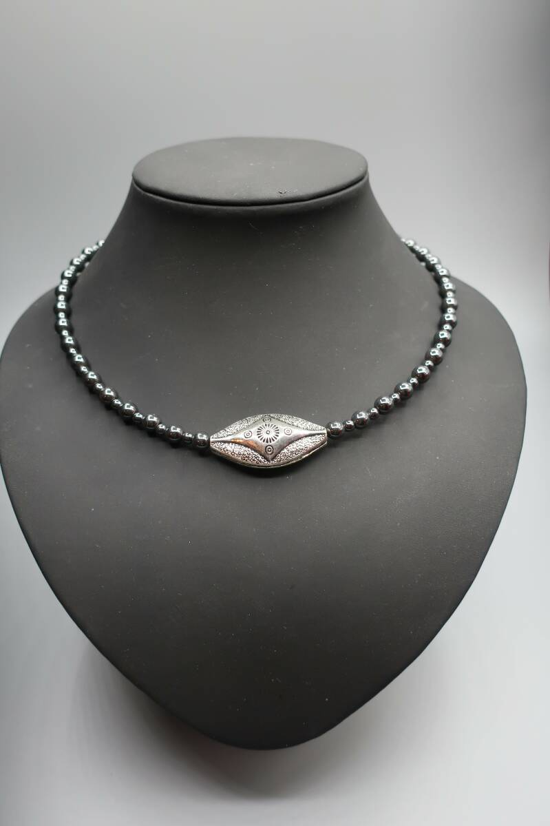 Necklace 'Memory Hematite'