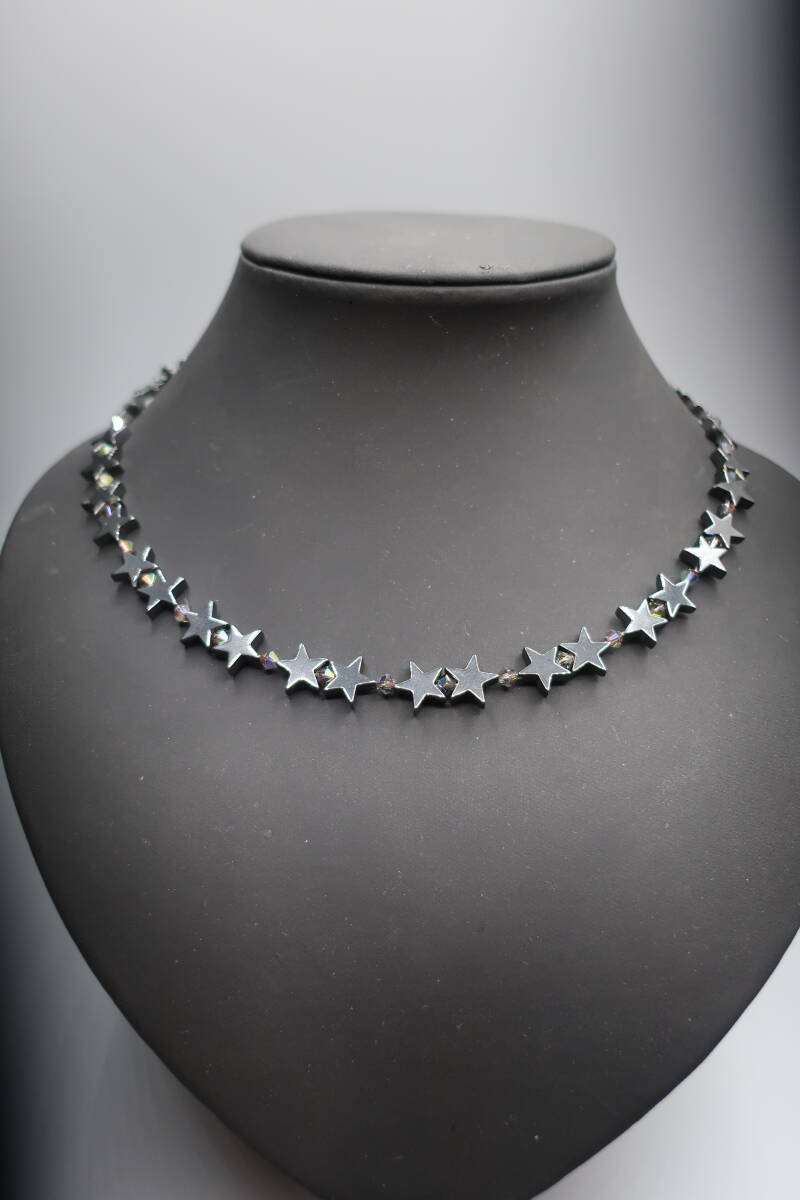 Necklace 'Star Hematite'