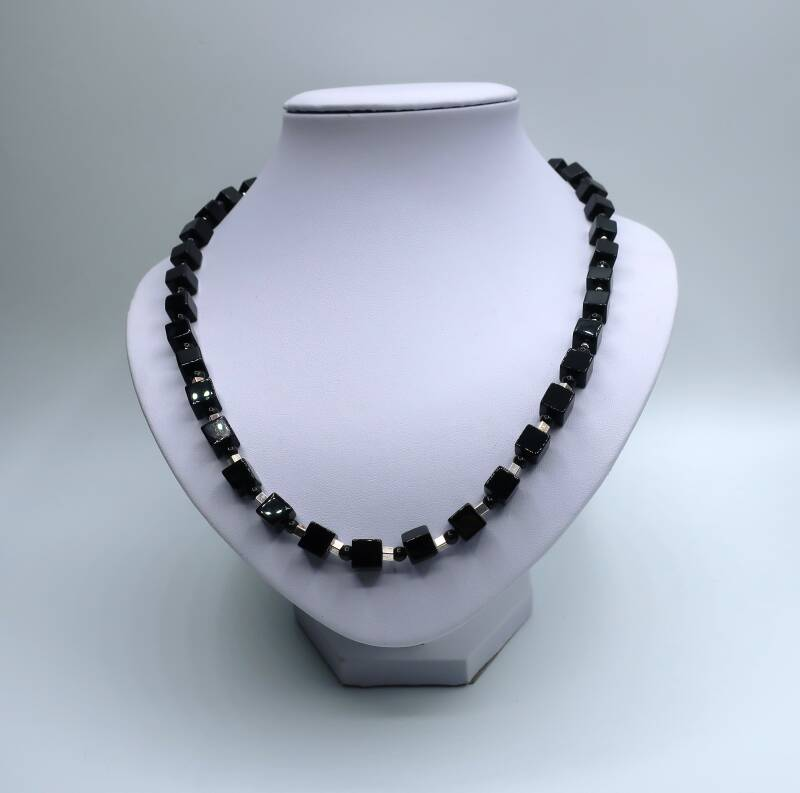 Collier Onyx Cubic