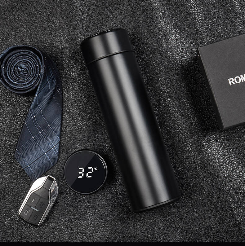 Black Normal Smart thermos without biling ability