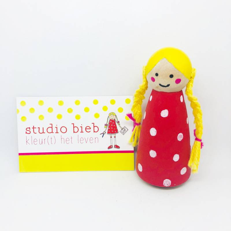 Business Pegdoll Gepersonaliseerd