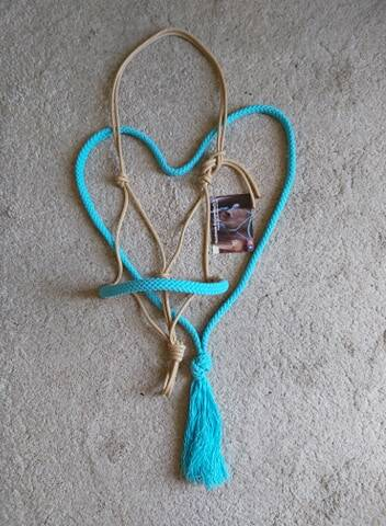 Simpel touwhalster + neckrope