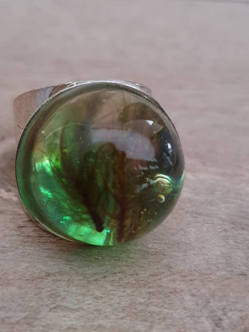 Forest green - ring