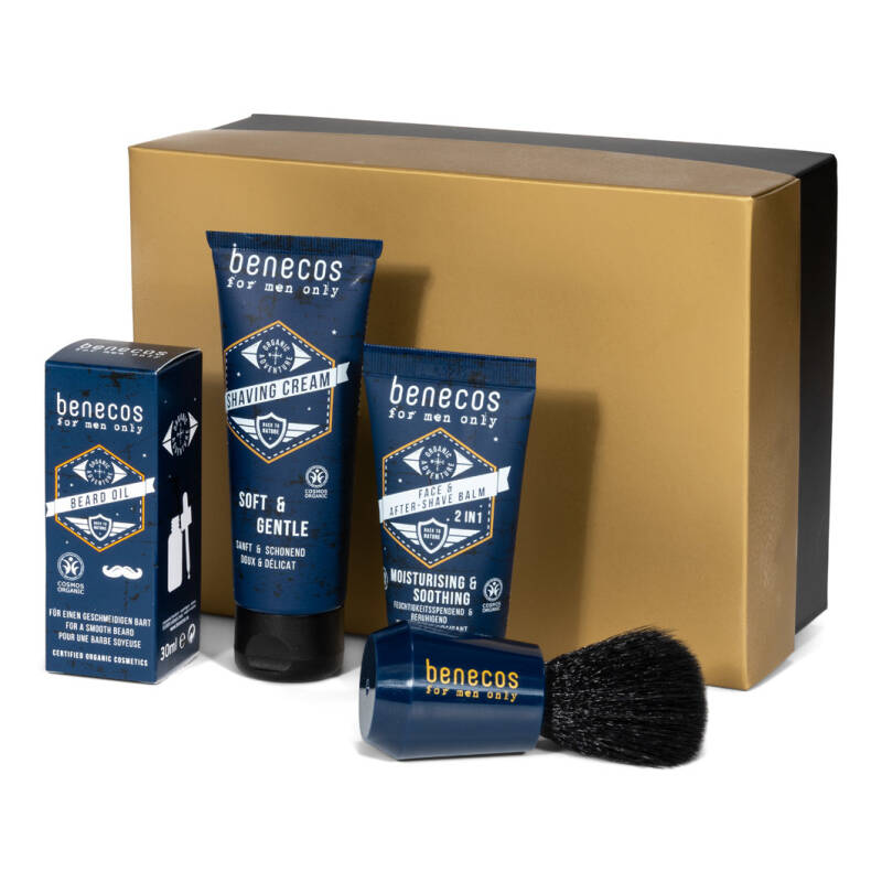 Cadeaupakket 'Dear men: to shave or not to shave'