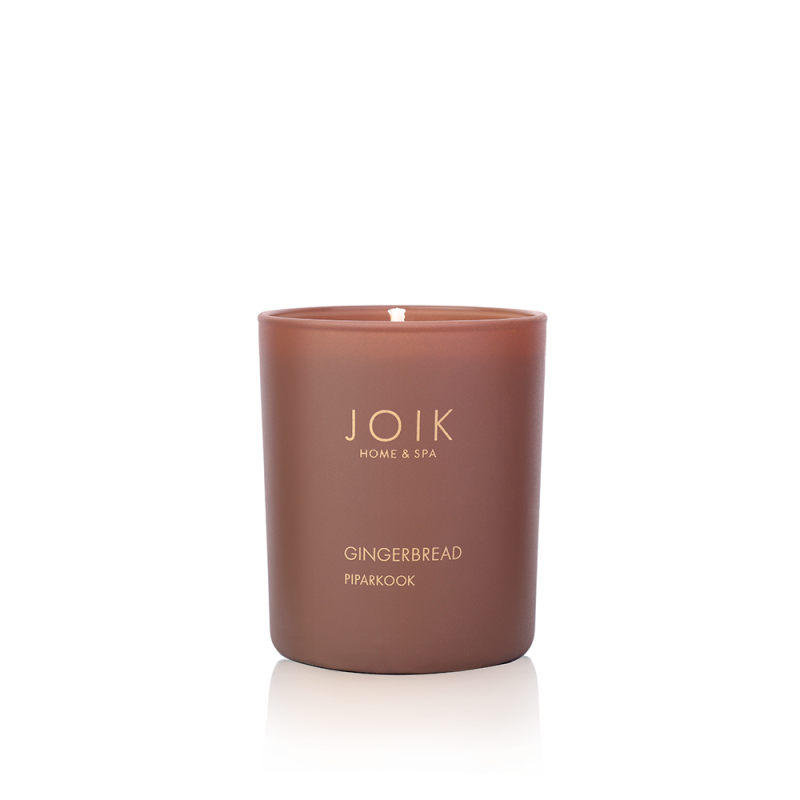 Joik Home & Spa -  Vegan Soywax scented candle Gingerbread, 145 gr.