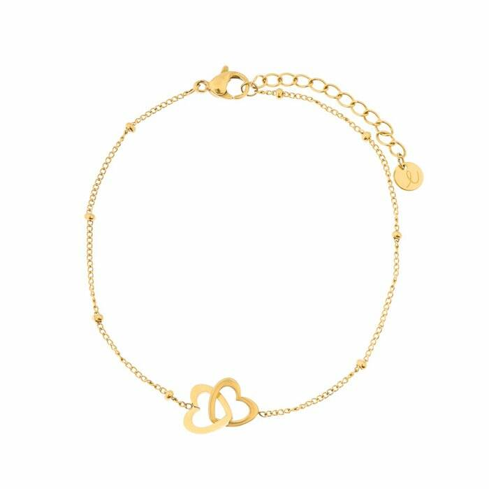 Gold - Adult - Two Hearts
