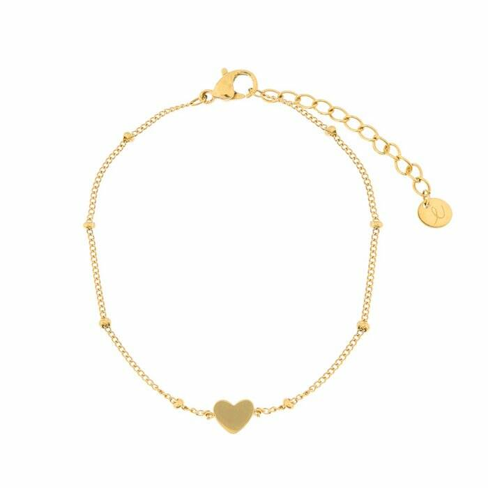 Gold - Adult - Closed Heart