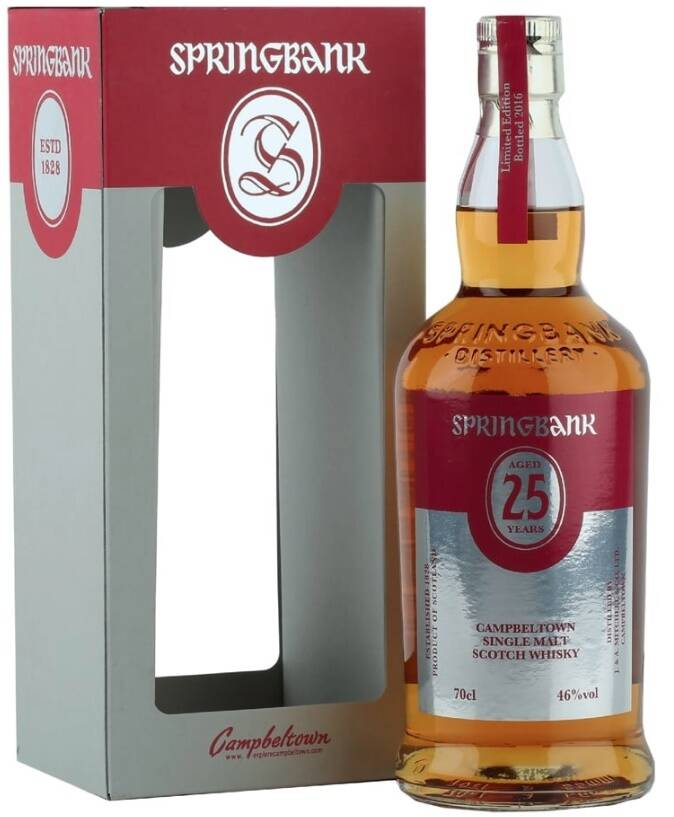 SPRINGBANK AGED 25 YEARS OLD LIMITED EDITION