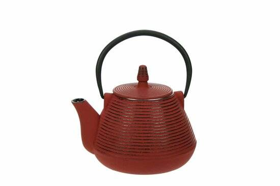 Cosy & Trendy Nagoya red theepot met filter 1 l
