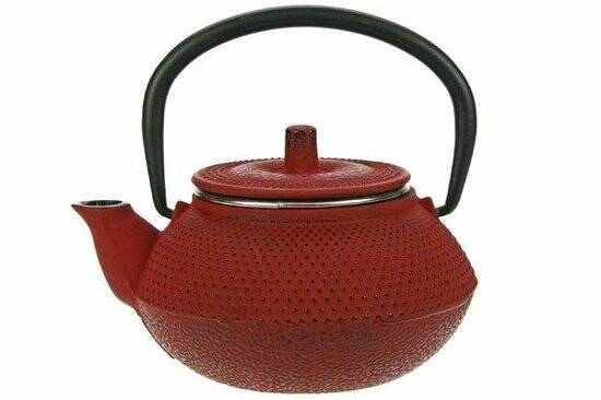 Cosy & Trendy Kobe Tea for One Theepot - 0.3 l - Gietijzer - Rood