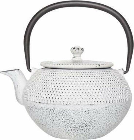 Cosy & Trendy SHINTO CREAM THEEPOT 0.65L GIETIJZER FILTER, 6955964