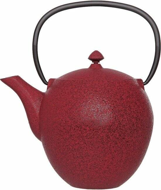 Cosy & Trendy Pear Theepot - 1 l -Gietijzer - Rood