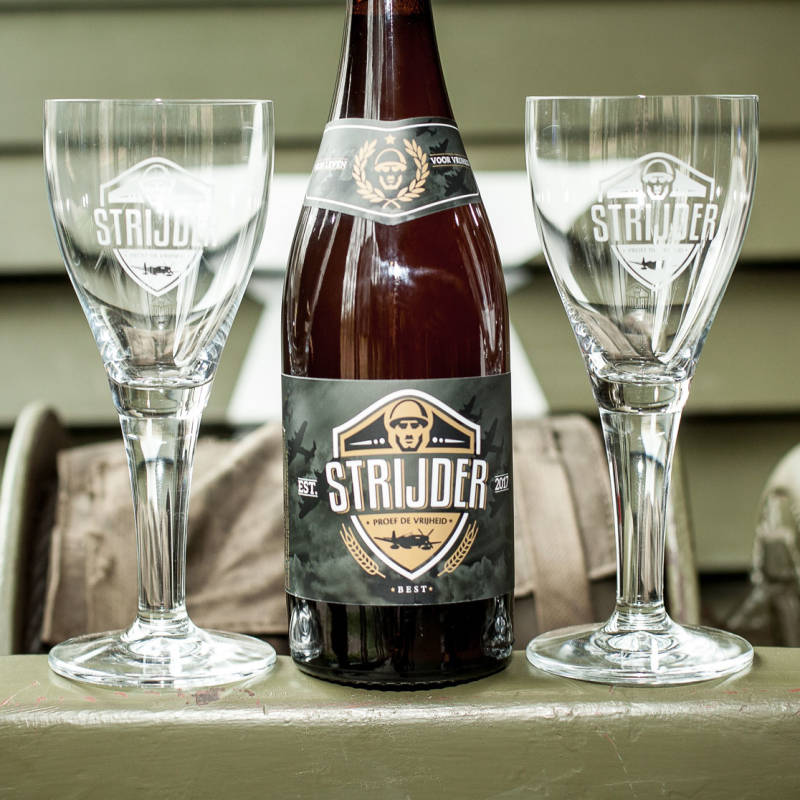 Strijder Roggetripel glas 25 cl