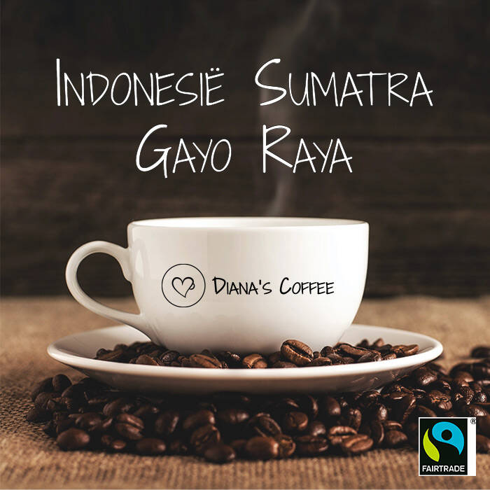 Diana's Coffee - Indonesië Sumatra Gayo Raya Fairtrade