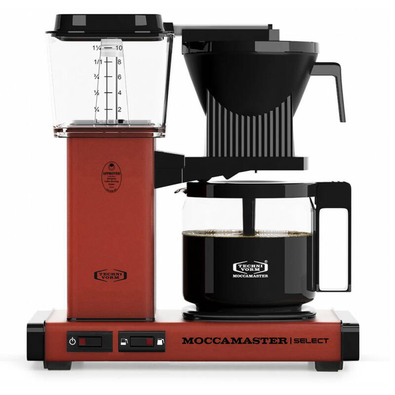 Moccamaster KBG Select - Brick Red