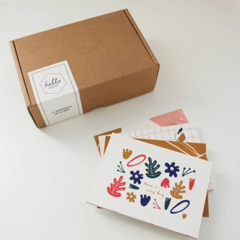 MOMENTS IN A BOX - 50 kaartjes