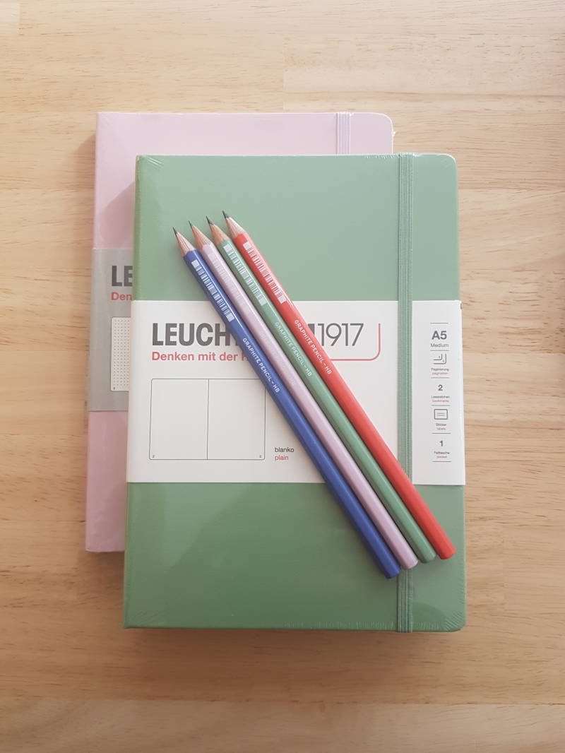 Notitieboek Muted Colours