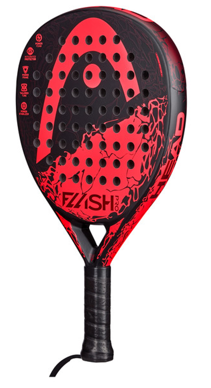HEAD FLASH PRO with CB (red)