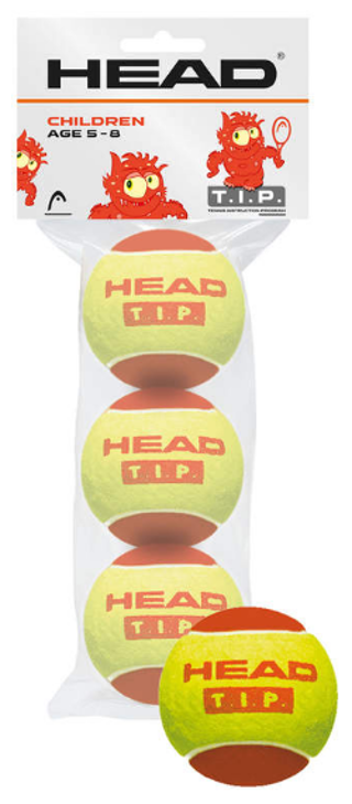 HEAD T.I.P. Red 3-ball