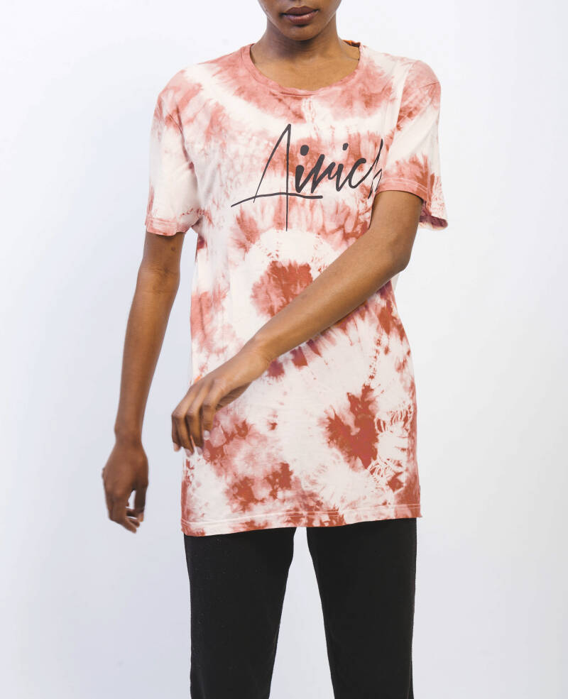 BROWN T-SHIRT (TIE-DYE)