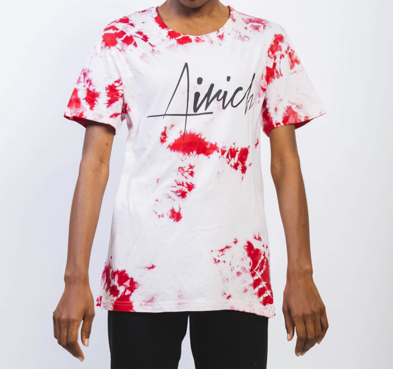 RED T-SHIRT (TIE-DYE)