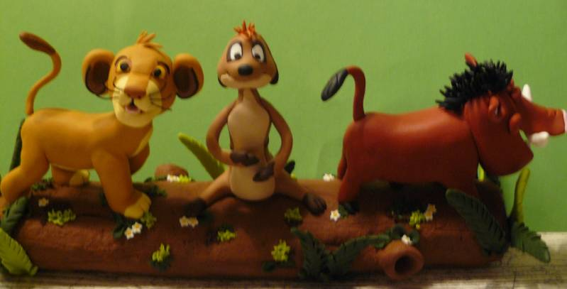Lion King Taarttopper