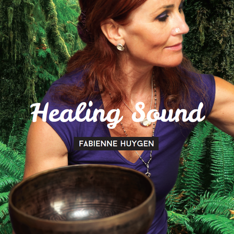 CD Healing Sound, door Fabienne Huygen