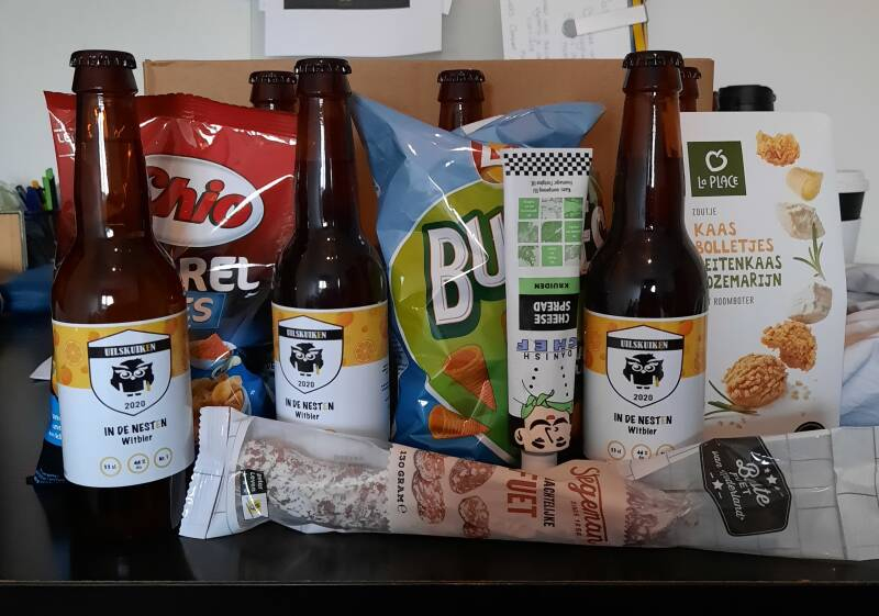 Beer & Bites Box
