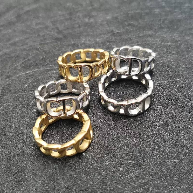 PRE ORDER | CD chain ring | zilver