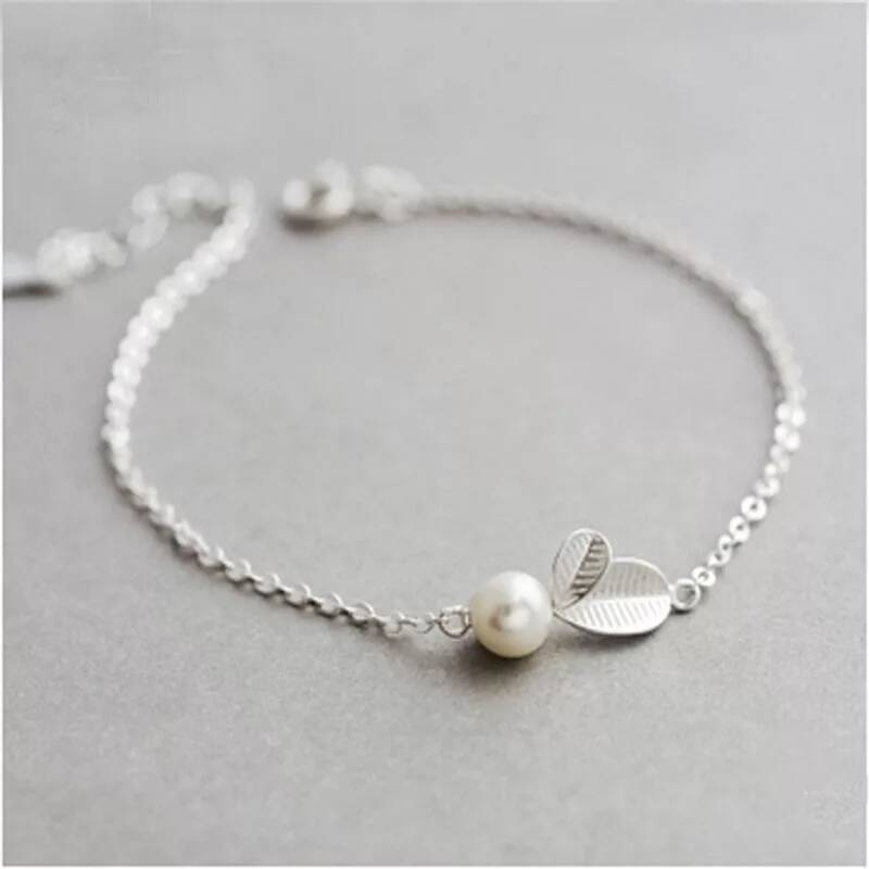 Armband pearl | 925 zilver