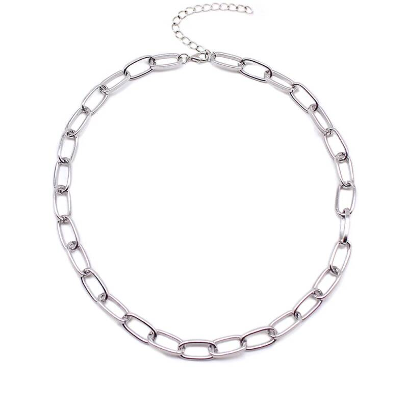 Chain necklace | zilver
