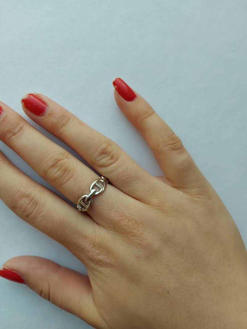 Chain ring | zilver
