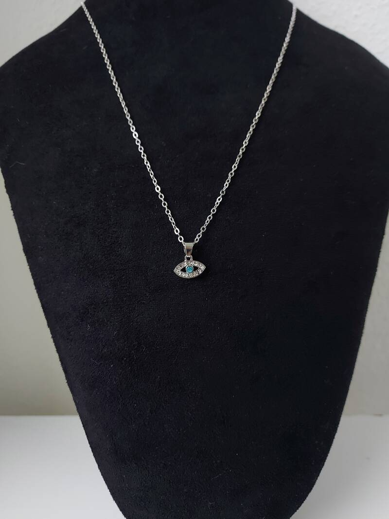 Eye on you necklace | zilver