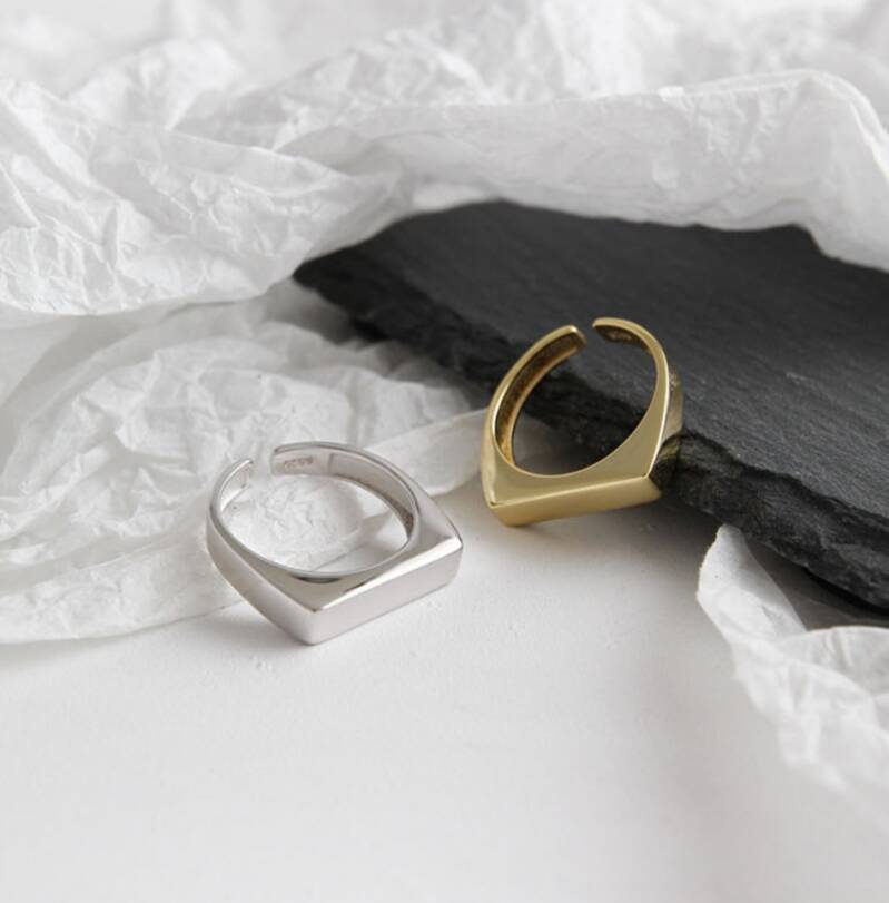 Ring square | gold