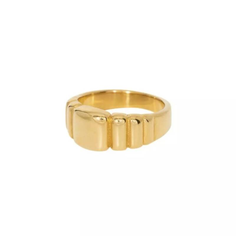 Ring loafy | goud