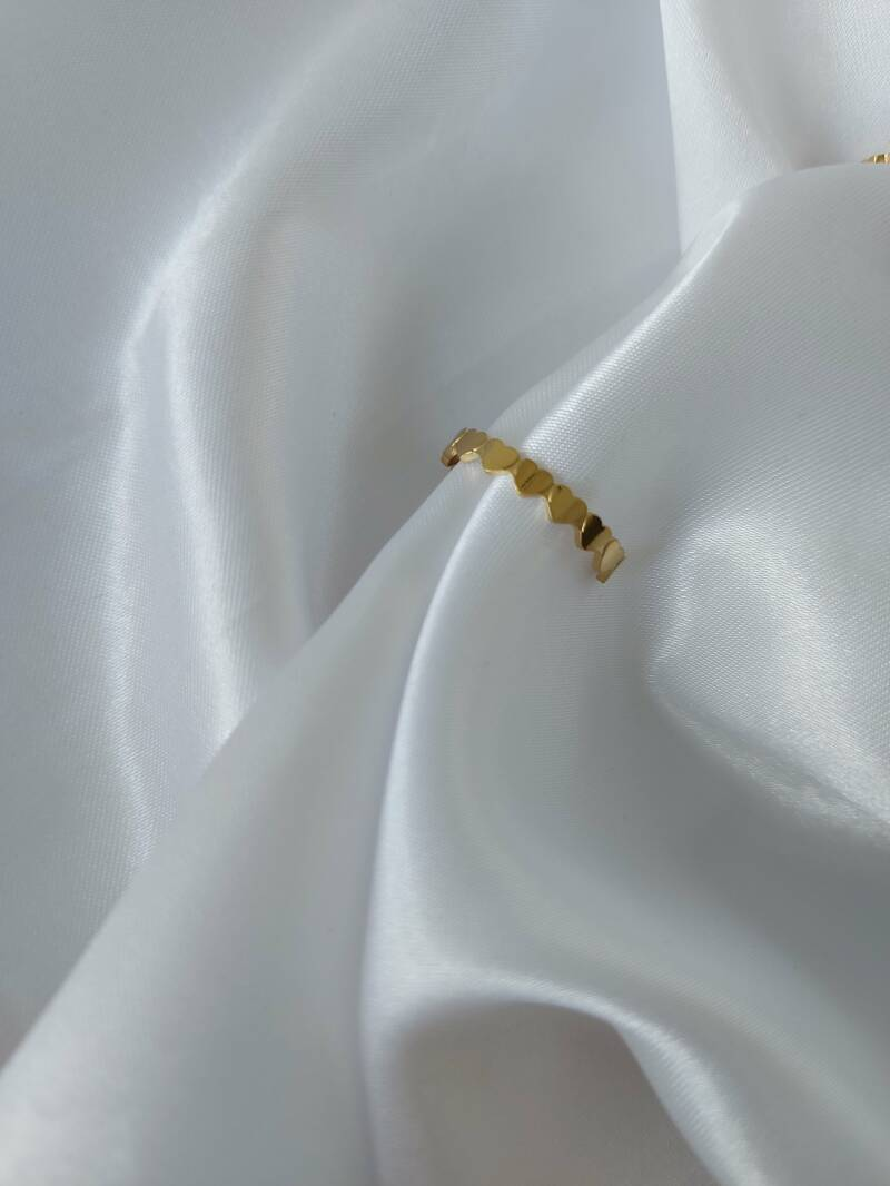 Ring hearts | goud