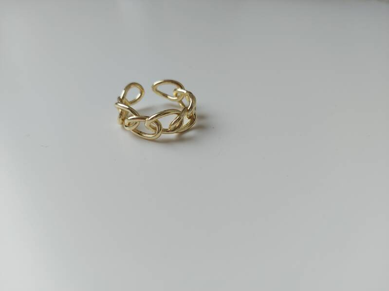 Ring chained | goud