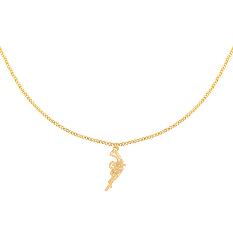 Necklace gun | goud