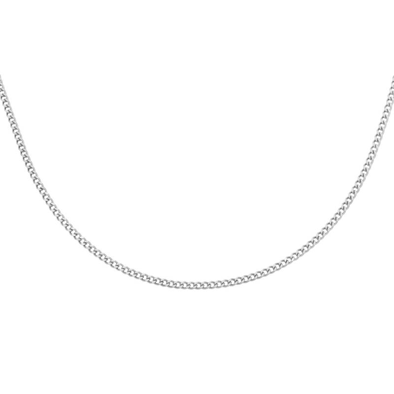 Necklace connected small   zilver