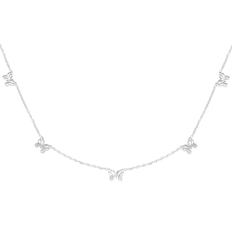 Butterfly necklace | zilver