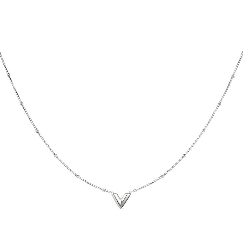Necklace V small | zilver