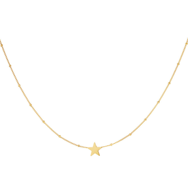 Necklace star | goud