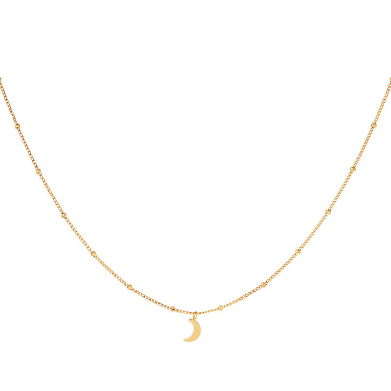 Necklace moon | goud