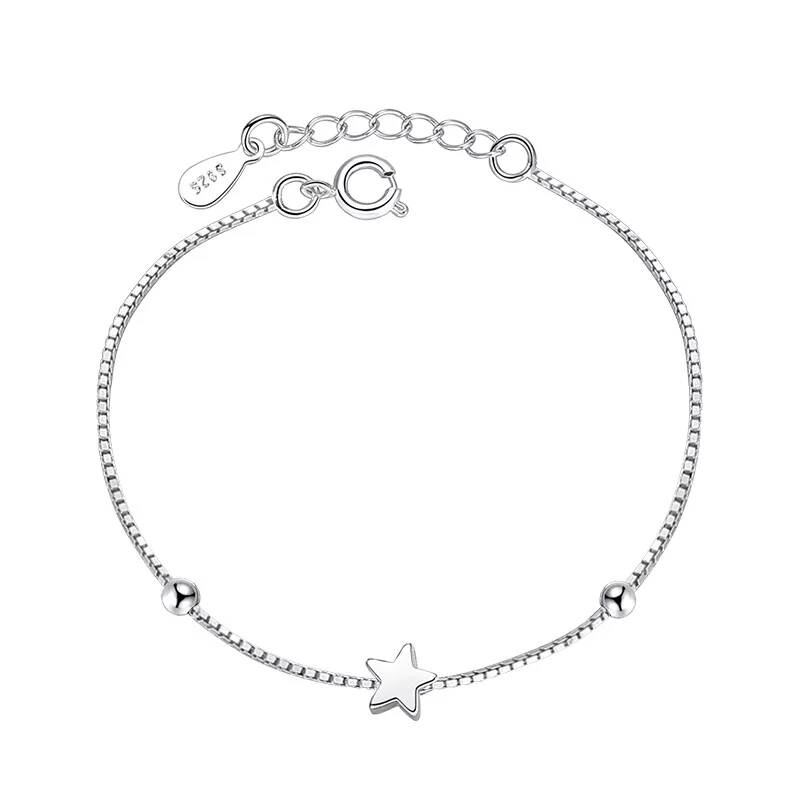 Armband ster | 925 zilver
