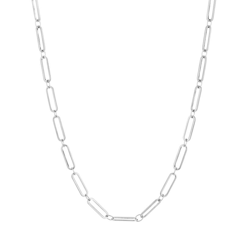 Chain necklace 2.0   zilver