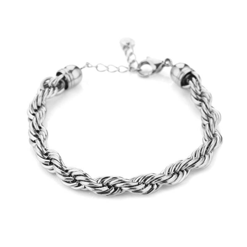 Armband twisted | zilver