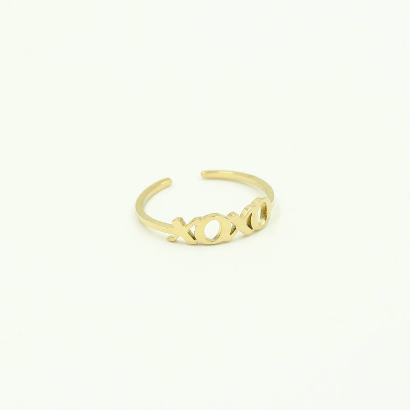 XOXO ring | goud